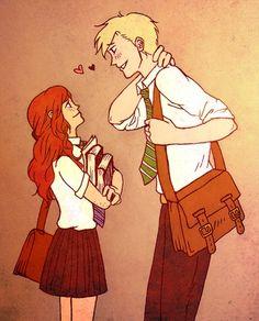 Rose Amilia Weasley & Scorpius Hypherion Malfoy ❤