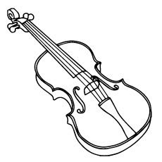 10 Lovely Violin Coloring Pages For Your Toddler Free Printable Coloring Pages Of Violins Violin Works Coloring Pages Hello Kitty Colouring Pages Violin Pics