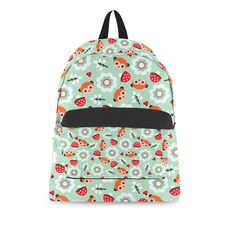 48e9acd533 Pastel Woodland Backpack. Mint Green ...