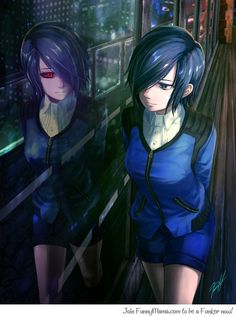 Tokyo Ghoul ~~ This is an anime heroine that I can LOVE! She kicks ass and yet has a sensitive side. PERFECT! :: Kirishima Touka