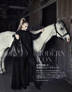 Modern Icon | Valeria Smirnova | Denise Boomkens #photography | Vogue Japan September 2012