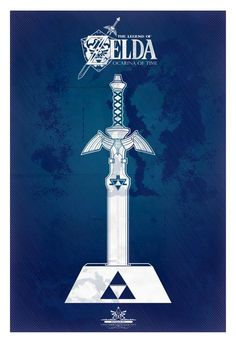 Legend of Zelda: Sword and Shield Posters - Created by Tom Ryan