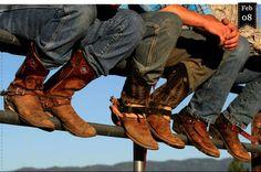Das Schuhwerk der Cowboys » By