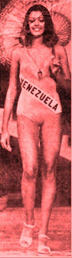 Venezuela, en su Desfile en traje de Baño, durante el Miss Universe 1976..