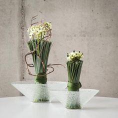 Sklenená misa - FLORATEC - Veľkoobchod - aranžérske, floristické potreby, dekoračné predmety!