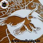 Paper cutting is one of the type of cutting paper with the help of scissors or a sharp knife. It can be simple and complex in design depends upon the crafter. Paper Strips, Types Of Craft, How To Make Paper, Simple Art, Paper Cutting, Scissors, Quilling, The Help, Rooster