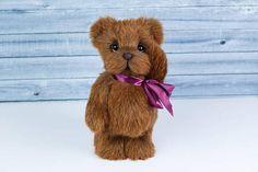 Artist collectible Teddy bear Ben OOAK