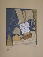 Juan Gris - Le moulin à poivre  L'incartade Lille