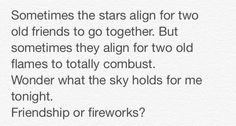 Friendship or fireworks? Gossip Girl quotes.