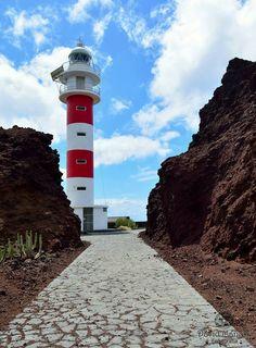 Faro de Teno. *** Lighthouse at Punta de Teno, Tenerife, Canary Islands