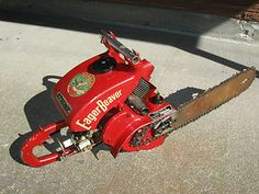 The Eager Beaver - what a great name for a #chainsaw!