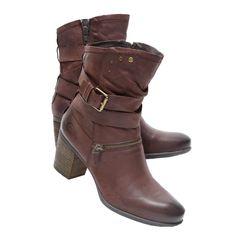 d2b9482b862 Josef Seibel Women s BRITNEY 06 moro leather mid-calf boots 65409-VL904330