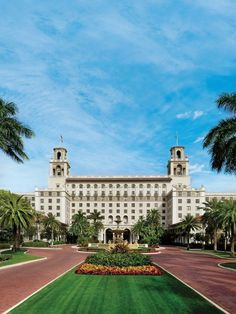 As the most famous hotel in the affluent playground of Palm Beach, Florida, The Breakers regularly plays host to the They stay in an exclusive hotel within a hotel, finds MailOnline's Tamara Abraham. Breakers Hotel, Breakers Palm Beach, The Breakers, West Palm Beach Florida, Palm Beach County, Florida Beaches, South Florida, Florida Vacation, Palm Beach Resort