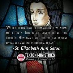 Christian Art, Christian Quotes, Elizabeth Ann Seton, Catholic Saints, Leadership, Prayers, Faith, In This Moment, Communion