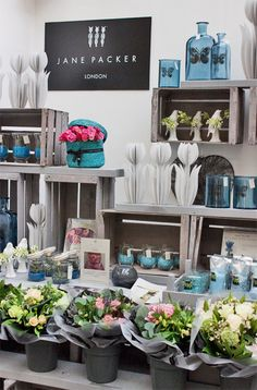 Jane Packer stand at the Country Living Magazine Spring Fair in London