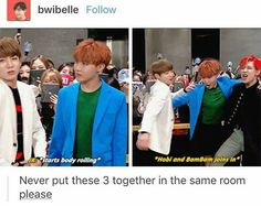 I love BTS and Got7 interactions. It's so much weird and cuteness at once, just perfection. -@BeautyandthePoet