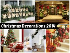 50+ Latest Christmas Decorations 2016  Some of these are from earlier years than 2016, but still very relevant for today!