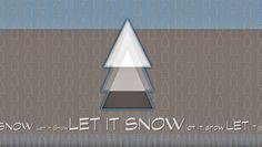 Winter Wallpaper, Christmas Wallpaper, Winter Christmas, Christmas Ideas, Let It Snow, Digital Art, Behance, Wallpapers, Gallery