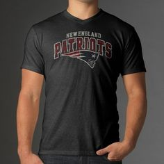 Official New England Patriots ProShop - '47 Brand Victory S/S Tee-Charcoal
