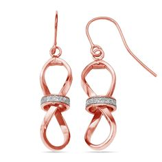 Two-tone Sparkling Infinity Dangle Earrings in Rose & White Gold https://www.brilliance.com/earrings/two-tone-sparkling-infinity-dangle-fashion-earrings-rose-white-gold