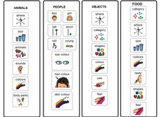 Visual Cues for describing/using adjectives Speech Language Therapy, Speech Language Pathology, Speech And Language, Speech Therapy, Speech Activities, Language Activities, Therapy Activities, Therapy Ideas, Teaching Resources