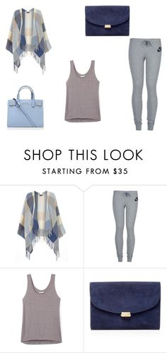 """Blue Baby"" by major-witness99 ❤ liked on Polyvore featuring Dorothy Perkins, NIKE, Rebecca Minkoff, Mansur Gavriel and Kurt Geiger"