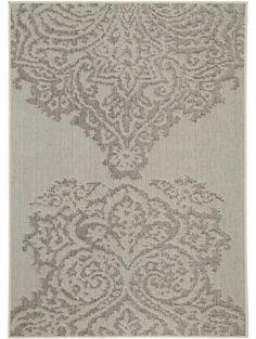 Flachgewebe Teppich Dawn Lace Cream
