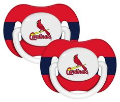 St. Louis Cardinals Pacifier - 2 Pack