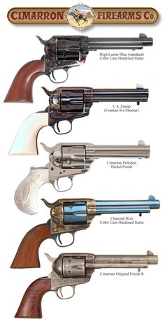 Finish Options Hand Guns