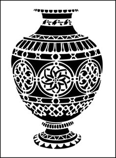 Moroccan stencils from The Stencil Library. Stencil catalogue quick view page 3.