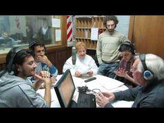 Taller de radio realizado en el 2014 por el Centro Cultural Padre Mugica y Radio Nacional Bahía Blanca