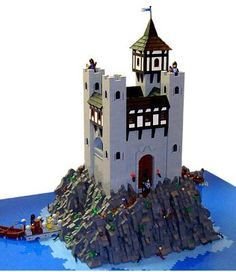 The Classic Castle dot Com Featured MOC Archive Lego Castle, Tower Castle, Lego Moc, Lego Duplo, Lego Burg, Lego Village, Lego Dragon, Lego Modular, Lego Architecture