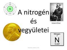 A nitrogén és vegyületei Nobel Alfred Készítette: Kothencz Edit.>