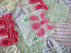 If you have found this page via Pinterest, please read! This was originally posted in August 2013. I do not sell kits for the items shown below. Links are provided for the Etsy shops where these kits were sourced There are many other shops selling chenille squares on Etsy and Ebay if those listed are…