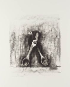 Jim Dine - No title (From Ten Winter Tools series), 1973, Lithograph on paper, 707x553mm