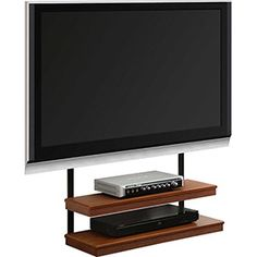 AltraMount Quick TV Mount with 2 Shelves in Cherry Finish