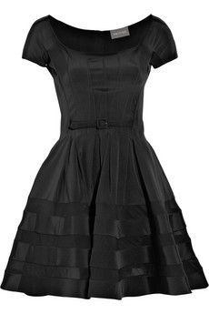 Zac Posen full-skirted stretch-silk dress, £1,100
