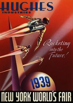 Hughes Industries 1939 Poster