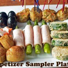 turkey appetizer sampler  With turkey power balls