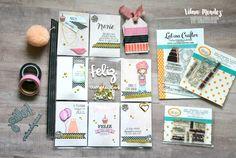 Latina Crafter - Sellos en Español: Desde el taller de Vilma-Pocket letter de Cumpleaños