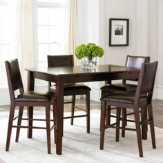 Dining Possibilities 5-pc. Counter-Height Rectangular Dining Set  found at @JCPenney