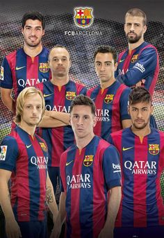 Puzzle Educa de 1000 Piezas Fútbol Club Barcelona 2014-2015