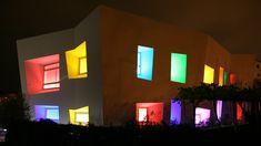 Typology | Skira Architectural Lighting Architectural Lighting Design, Residential Lighting, Light Architecture, Light Project, Design Projects, Facade, Window, Creative, Windows