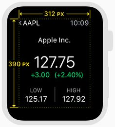 Specifications - Apple Watch Human Interface Guidelines - Apple Developer