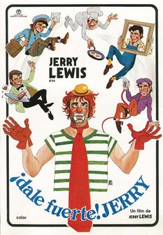 "¡Dale fuerte! Jerry (1980) ""Hardly Working"" de Jerry Lewis - tt0082501"