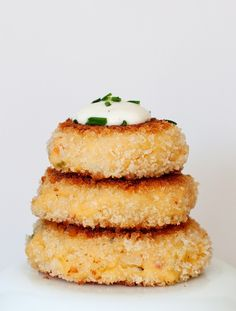 Jalapeno Popper Potato Cakes