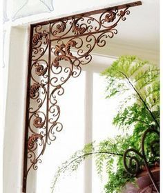 framing a wall corner on sale at reasonable prices, buy Iron Wall Hanger Metal Wall Frame Iron Wall Stent Metal Stent from mobile site on Aliexpress Now! Tuscan Decorating, Interior Decorating, Wrought Iron Decor, Iron Furniture, Tuscan Style, Tuscan Design, Iron Work, Iron Gates, Wall Hanger
