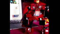 LEGO Hulkbuster Motion test