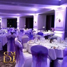 Purple wedding styling and lighting design at Stamford Plaza Brisbane Event Lighting, Lighting Design, Brisbane Gold Coast, Wedding Styles, Wedding Ideas, Stamford, Sunshine Coast, Purple Wedding, Corporate Events