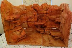 How to build a bearded dragon fake rock background